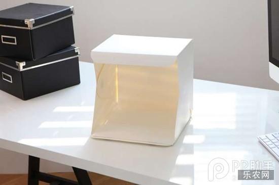 双十一网店主福利 制作一款能折叠的袖珍摄影棚