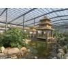 专业承揽各种钢结构智能温室大棚、钢结构农业生态观光园