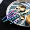 银貂长期供应炫彩系列高档刀叉勺