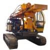 光伏打桩机厂家 青海共和光伏打桩机 多功能履带钢管压桩钻机