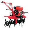 翻土机200元一个最好用的新型微耕机36马力履带式旋耕机