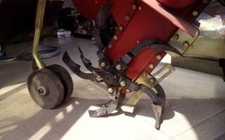 最先进的中耕机甘蔗培土施肥一体机视频最好四驱微耕机