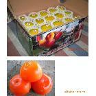 供应批发广西桂林特产红娘子大红鲜柿子